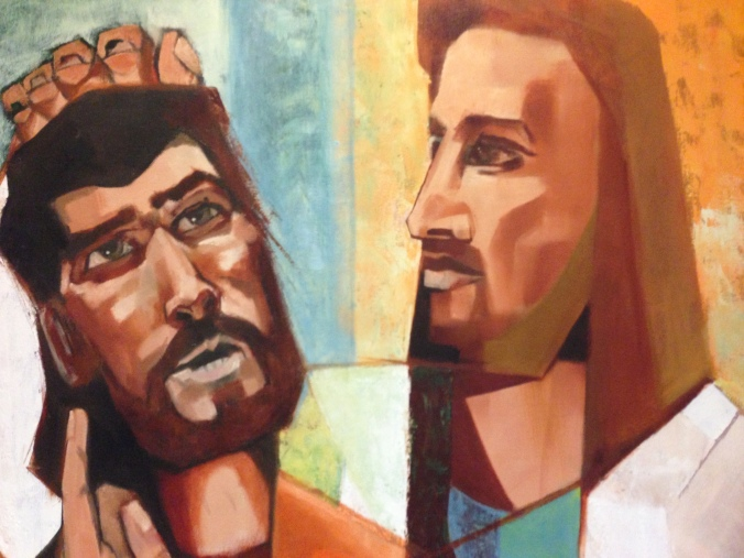 Jesus healing the Deaf Man by Richard Caemmerer